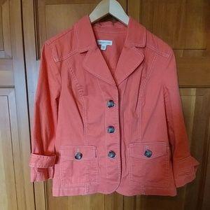 Original Coldwater Creek Cotton Coat.